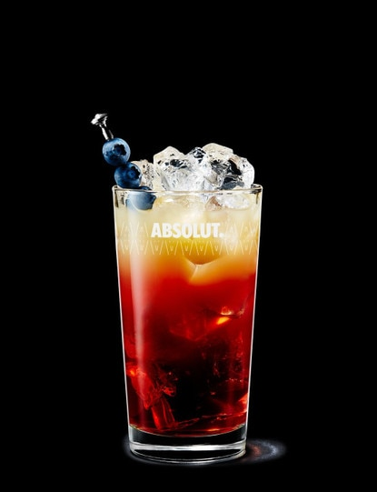 Absolut Berry and Apple Breeze