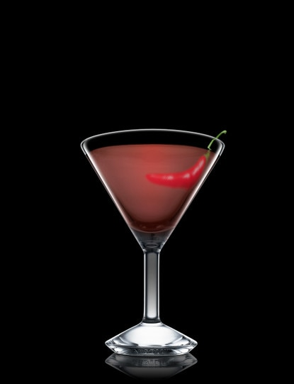 absolut chocolate chili martini