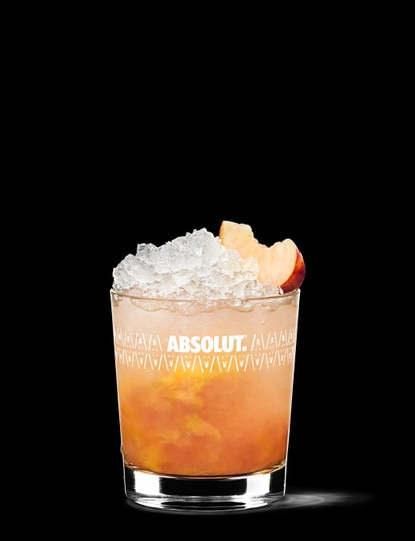 absolut peach-crush