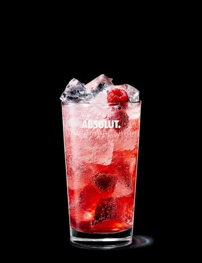 Absolut Raspberri Collins
