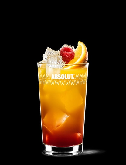 Absolut Raspberri Sunrise