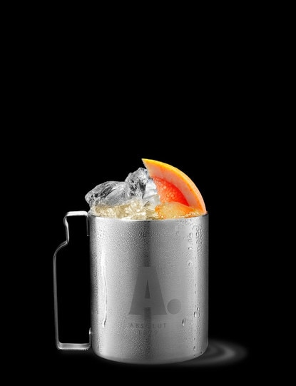 absolut ruby mule