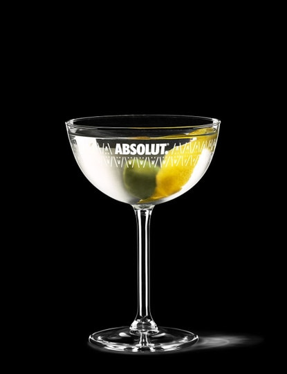 absolut vodka-martini