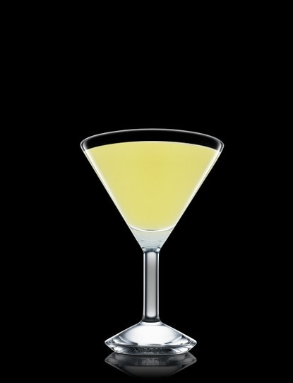 Basil And Pineapple Martini