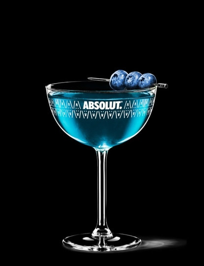 blueberry martini
