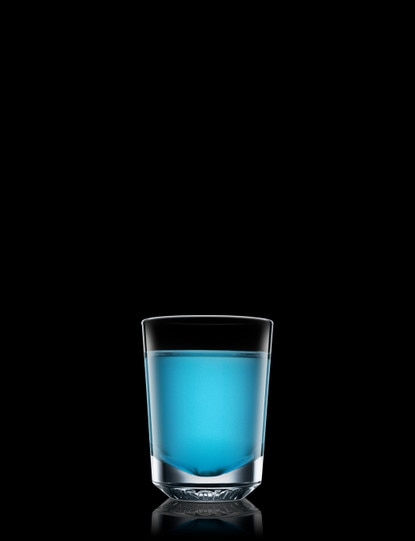 Flaming Blue Bahoona Shooter