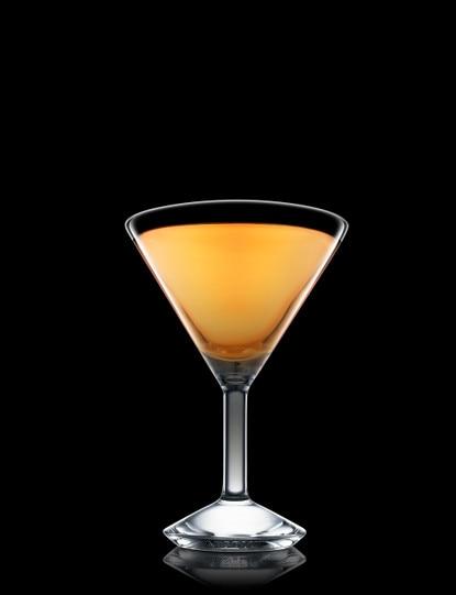 Ruby Apricot Martini